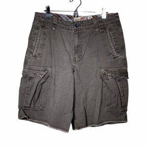 Aeropostale Long Cargo Shorts W34